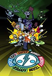Super Robot Monkey Team Hyperforce Go! Season 4